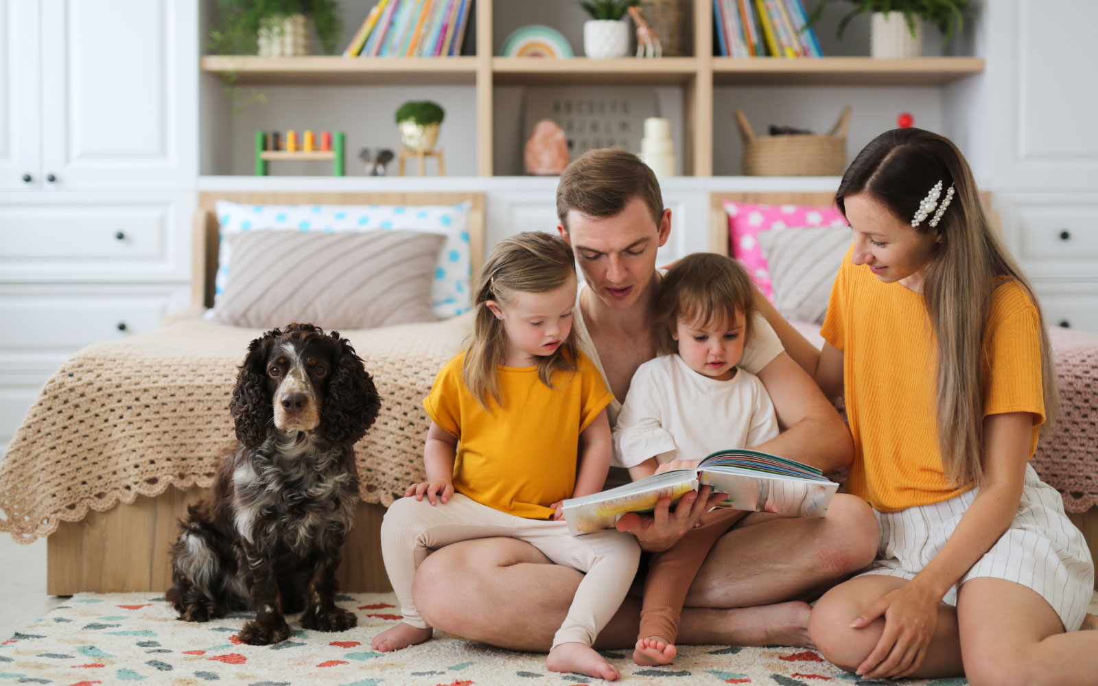 Just ONE Health and Social Care | Providing Care, Support & Accomodation | Family storytime